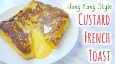 Hong Kong Style Custard French Toast⎜流沙港式西多士 - Peachy Bunny Bakes