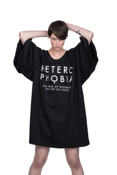 Heterophobia Giant Tee Street Wear, Tees, Mens Tops, T Shirt, Life, Collection, Fashion, T Shirts, Tee