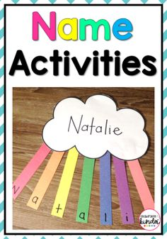 Easy name activities!