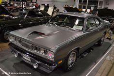 Muscle Car Spotlight: 1971 Plymouth Duster 340 AKA DustAAR #Mopar #MuscleCars