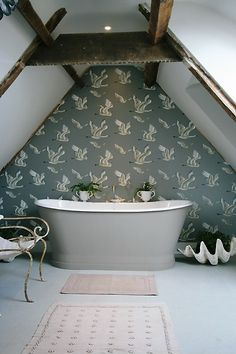 1700 mm Epoca cast iron bath from Aston Matthews can be painted to match your decor www.astonmatthews.co.uk