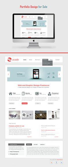 http://cm96.deviantart.com/art/Website-Portfolio-for-sale-298918031