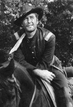 Errol Flynn in Silver River, 1948.