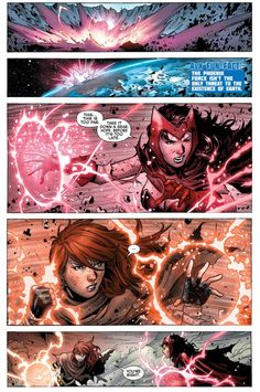 Tony Scarlet Witch   hope summers vs scarlet witch 2