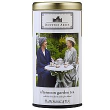 Lady Violet, the Dowager Countess, and Lady Isobel Crawley do not agree on much when they have their afternoon tea -- but they would agree on this delightful caffeine-free blend. Fragrant garden herbs such as orange bergamot mint, lemon thyme and blackberry leaves add depth and sweetness to a pleasant conversation.