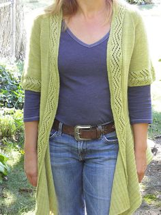 Ravelry: knitknard's Swan's Island  yarn (all natural dyes)/ pattern - Summer Breeze