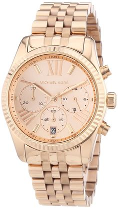 Gold watches for women Michael Kors