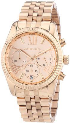Michael Kors Damen-Armbanduhr Chronograph Quarz Edelstahl beschichtet MK5569: Michael Kors: Amazon.de: Uhren