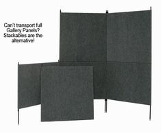 stackable panels http://www.armstrongproducts.com/stackable09.htm