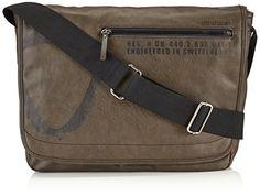 Strellson Paddington Messenger LH 4010001167 Herren Umhängetaschen 40x32x12 cm (B x H x T), Braun (mud 752) - http://on-line-kaufen.de/strellson/braun-mud-752-strellson-paddington-messenger-lh-b