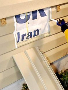 This story shows you how make repairs to vinyl siding.
