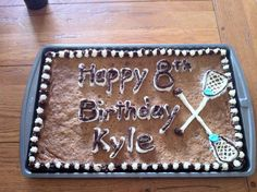 1000 Images About Lacrosse Cakes On Pinterest Lacrosse