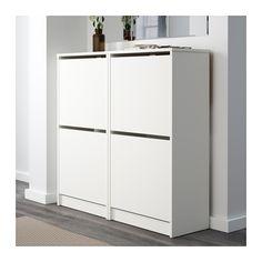 BISSA Skoskab med 2 rum - white - IKEA