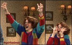 """""""I'm so freaking excited!"""" - Kristen Wiig (SNL) @Shelley Parker Herke Parker Herke Kimrey"""