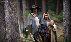 Ah yes. That time Porthos looked like a Jedi.  The Musketeers - Season 2 - Porthos & Aramis (via spoilerTV) *Spoilers*