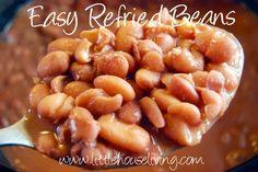 Easy Refried Beans