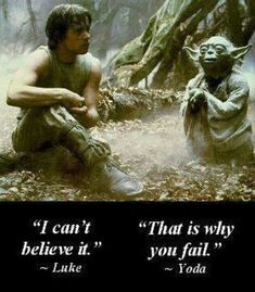 """Remember the little green Jedi -- Yoda, from """"Star Wars""""? Did you think his language was strange? Well you know what? Human languages may have originated from an East African Language which may have sounded very similar to Yoda. Yoda Quotes, Movie Quotes, Wisdom Quotes, Quotable Quotes, Quotes Pics, Nice Quotes, Encouragement Quotes, Amazing Quotes, Citations Star Wars"""