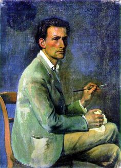 Balthus, 1908- self portrait Çevir  ♥♥♥