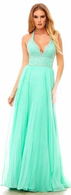 green dress; green prom dresses