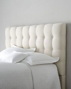Shop Langford Full Headboard from Bernhardt at Horchow, where you'll find new lower shipping on hundreds of home furnishings and gifts. Tufted Headboard, King Headboard, Headboard Designs, Furniture, Bed Styling, Full Headboard, Bernhardt Furniture, Bedroom Furniture, Headboards For Beds