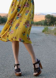 The skirt is a little spoonful of pretty.