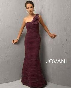 Jovani 7761 Aubergine Purple Mother of the Bride Dress Formal Gown New 8 12 Designer Evening Dresses, Designer Gowns, Evening Gowns, Dressy Dresses, Nice Dresses, Formal Gowns, Dress Formal, Jovani Dresses, Mothers Dresses