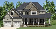 Country House Plan with 2720 Square Feet and 3 Bedrooms from Dream Home Source | House Plan Code DHSW076923