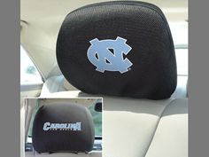 The North Carolina Tar Heels Head Rest Cover for your car or truck