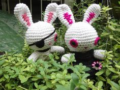 Tagged by Johanny H., via Flickr - crochet bunny