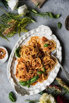 Does the internet really need another 'spaghetti sauce' recipe? For a year and half since I started this blog, the answer to myself was consistently NO. Yet here it is. Why? Instead of seeing it as too pedestrian to be blog-worthy, I now see it as invariably delicious, nourishing and act