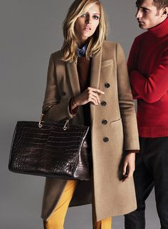 Anja Rubik  Clement Chabernaud for Gucci Pre Fall 2014