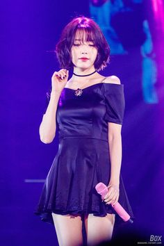 Photo album containing 20 pictures of IU Korean Girl Fashion, How To Show Love, Stage Outfits, Girls Dream, Korean Singer, Girl Crushes, Kpop Girls, My Girl, Asian Girl