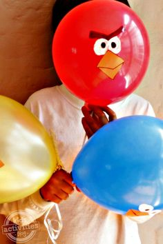 Angry Birds Balloon Game (from Kids Activities Blog)