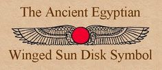 Eclipsology: The Winged Sun Disk Symbol Of Ancient Egyptian Religion Was Inspired By Total Solar Eclipses Ancient Egyptian Religion, Egyptian Symbols, Ancient Symbols, Egyptian Art, Ancient Art, Mayan Symbols, Ancient Aliens, Ancient History, Occult Symbols