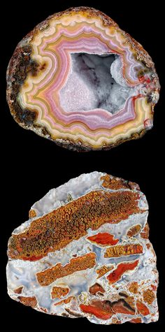 geodes!   i have a bunch of these from a waterfall in Tennessee