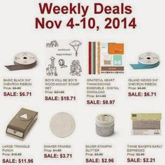 NEW WEEKLY DEALS!