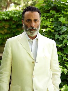 "Andy Garcia... I've heard that ""Black don't crack..."" Apparently Brown ain't crackin either.. Forever fine..."