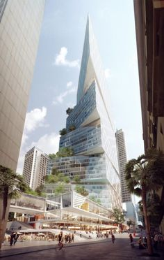 Sydney high-rise offers fresh angle ... and a new twist By Stu Robarts 9/26/14 Quay Quarter Tower in Sydney, Australia, will feature a twisted, angled façade will be split into five different sections