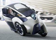Toyota i-road traz novo conceito para carros elétricos urbanos (Foto: Divulgação)