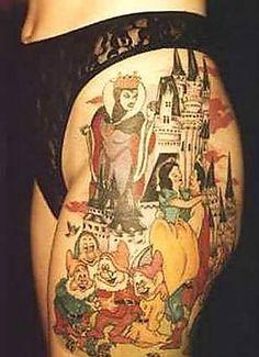 seven dwarfs tattoo design