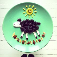 Amazing Instagram Breakfast Art by Idafrosk - I want a breakfast like that! Amazing.