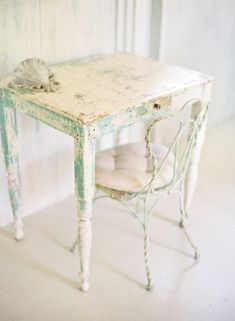 I love this table and chairs.  It is so cute!  I think I have the perfect spot for it.