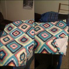 Fleece blanket December 2017.