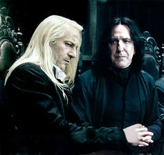 Sexy Lucius Malfoy | Sev & Lucius - severus-and-lucius-beneath-the-masks Photo