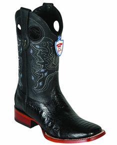 D WILD WEST ORYX 3X-TOE GENUINE OSTRICH LEG WESTERN COWBOY BOOT