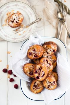 raspberry almond coconut friands