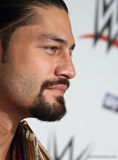 The 3x WHC Champ Roman Reigns on the WWE London Red Carpet.