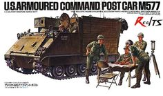 Tamiya 35071 US Armoured Command Post Car Scale Kit for sale online Tamiya Model Kits, Tamiya Models, Airfix Models, Us Armor, Armoured Personnel Carrier, Military Figures, German Army, Armored Vehicles, Plastic Models