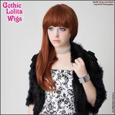 GothicLolitaWigs.com - Gothic Lolita Wigs®  Straight Classic™ Collection - Auburn Mix, $46.99 (http://www.gothiclolitawigs.com/no-thank-you/)