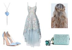 Аналоговость by kkaten-ka on Polyvore featuring мода, Notte by Marchesa, Gianvito Rossi, Anya Hindmarch and Simone I. Smith